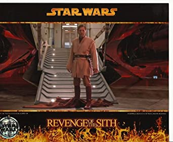 Star Wars Photo Ewan Mcgregor As Obi Wan Kenobi 8 X 10 Inch Photo Standing At Base Of Ramp At Amazon S Entertainment Collectibles Store