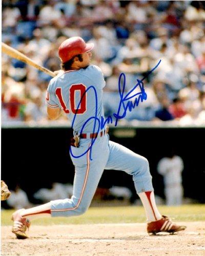 Autographed Ron Santo 8X10 Chicago White Sox Photo