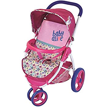 Amazon Com Baby Alive Lifestyle Stroller Toy Toys Amp Games