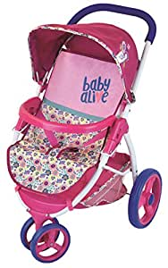 Amazon.com: Baby Alive Lifestyle Stroller Toy: Toys & Games