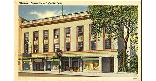 Amazon.com: General Custer Hotel Cadiz, Ohio Original ...