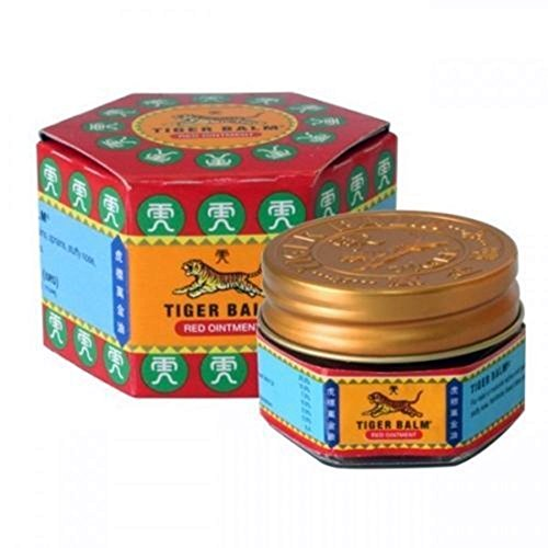 Tiger Balm Red Extra Strength Pain Relieving Ointment 10g