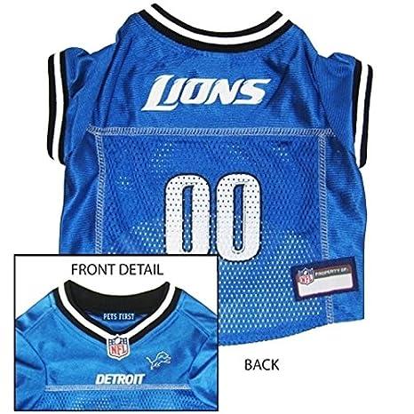 Amazon.com   DETROIT LIONS Dog Mesh Jersey ALL SIZES Licensed NFL (Medium)    Pet Supplies 23df00ced