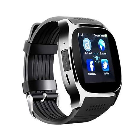 STEAM PANDA Relojes Inteligentes para Hombres Mujeres Compatible con Android de Android Responde la Llamada 300