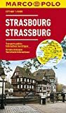 Strasbourg Marco Polo Map (Marco Polo City Maps)