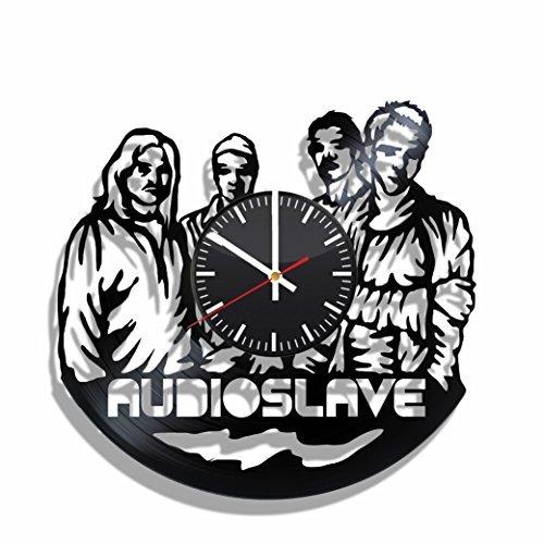 Vinyl Record reloj de pared Audioslave, para Audioslave aficionados, Audioslave Music–Póster de pared