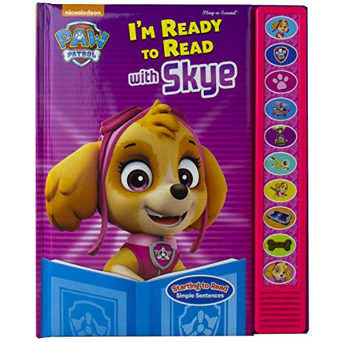 Nickelodeon Paw Patrol - I'm Ready To Read With Skye Sound Book - PI Kids (Best Cartoons On Nickelodeon)