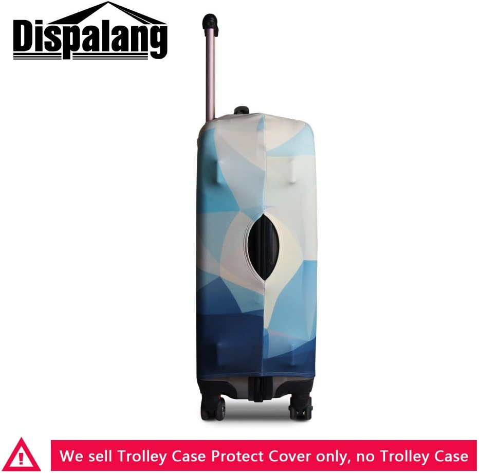 Dispalang Printed Luggage Cover Floral Suitcase Protector Cover Patterns Travel Accessories