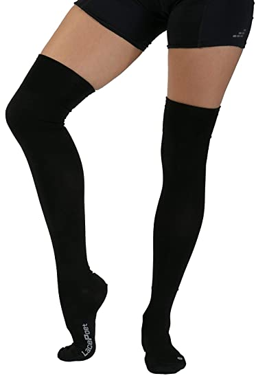 1b72bcf72 Image Unavailable. Image not available for. Color  Lace Poet Surgical Over  the Knee Compression Socks ...