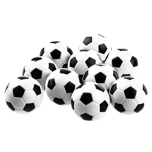 JingYuan 6pcs Mini Footballs Pelota de plástico Mesa de Soccer ...