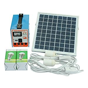 Complete off-grid solar lighting system with 6W solar panel two energy efficient 3W LED lights 12V battery and cables - great for a garage ...  sc 1 st  Amazon UK & Complete off-grid solar lighting system with 6W solar: Amazon.co ... azcodes.com