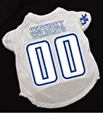Officially Licensed by NCAA - Kentucky Wildcats Dog Football Jersey- Large