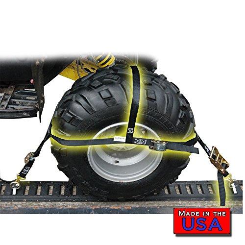 SecureMyCargo ATV/UTV/Tractor Wheel Net (2 Pack)
