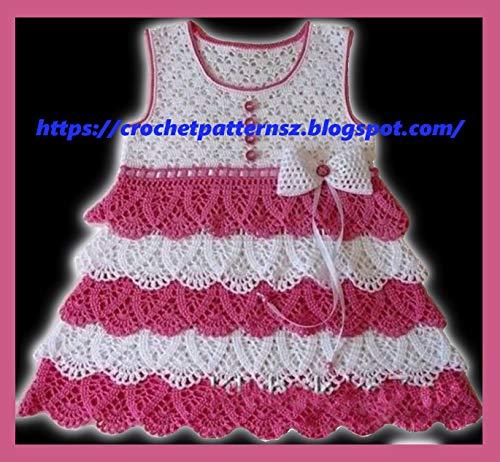 Crochet Baby Dresses - 6