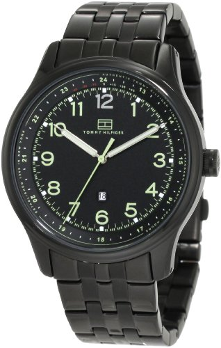 Tommy Hilfiger Men's 1710307 Classic Black IP Case and bracelet Watch
