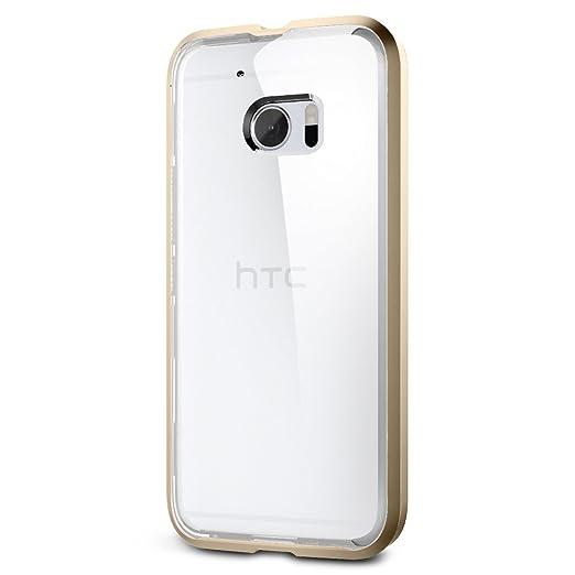 2 opinioni per Custodia HTC One M10, Spigen [Cover Chiaro & Cornice Colorato] Neo Hybrid CC