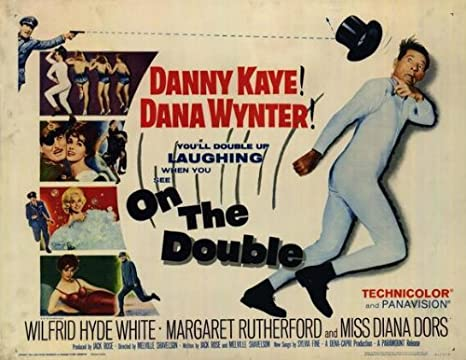 On The Double (1961) 22 x 28 Movie Poster - Half Sheet Style A ...