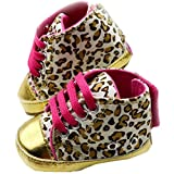 xhorizon TM FLK Baby Girls Princess Leopard Toddler Shoes