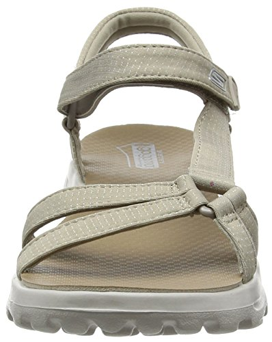 e6fd406ce50 Skechers Women s s Go Walk Move Heels Sandals  Amazon.co.uk  Shoes   Bags