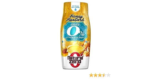 Natural Zero Salsa Mostaza y Miel 320 gr: Amazon.es: Alimentación y bebidas