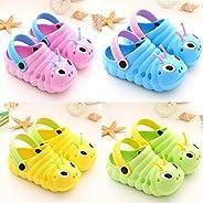 Realdo Baby Sandals Toddler Little Kids Clogs Non-Slip Girls Boys Clogs Slide Garden Shoes Beach Pool Shower Slippers