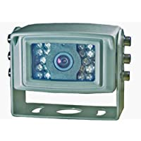 BOYO VTB301MA Marine Camera With White Housing and Bracket