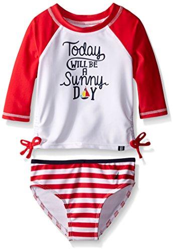 Nautica Girls Rashguard Swim Set