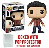 Funko Pop! Television: Teen Wolf - Scott McCall Vinyl Figure (Bundled with Pop BOX PROTECTOR CASE)