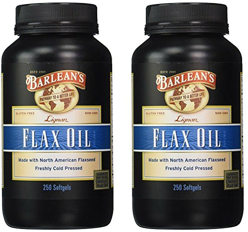 2 PACK: Lignan Flax Oil - Softgels - 250 ct.