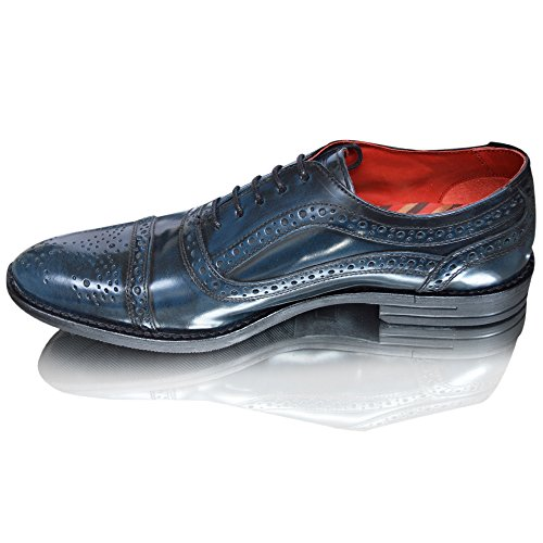 Blu Blu uomo Brogue London uomo London Base Base Brogue SdnvqRa