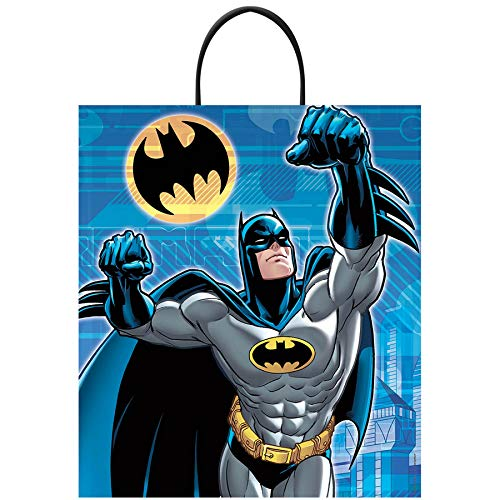 Batman Deluxe Plastic Treat Bag]()