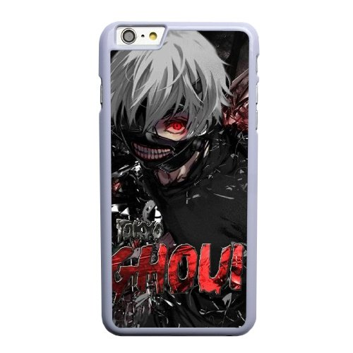 Coque,Apple Coque iphone 6 6S plus (5.5 pouce) Case Coque, Generic Anime Tokyo Ghoul Keren Cover Case Cover for Coque iphone 6 6S plus (5.5 pouce) blanc Hard Plastic Phone Case Cover