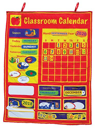 Get Ready Kids Classroom Calendar, 36 X 36 - Magnetic Learning Calendar