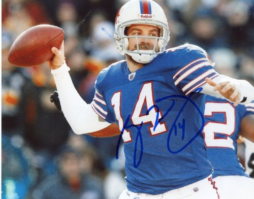 RYAN FITZPATRICK BUFFALO BILLS SIGNED 8X10 PHOTO