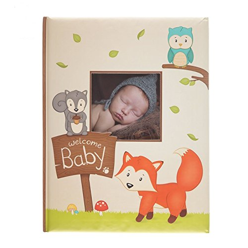 Fox Owl and Squirrel Woodland Friends Soft Baby Memory Book ()