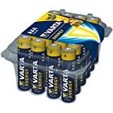 Varta Energy Micro AAA Alkaline Battery (24-Pack)