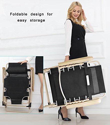 3 Positions Patio en Cadre Guoyajf Chair Lounge Inclinables CsQdhrxt