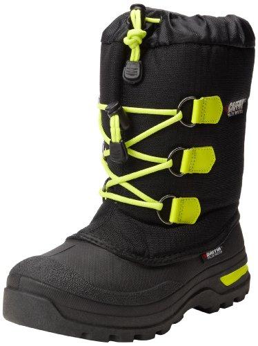 Baffin Igloo Snow Boot (Little Kid/Big Kid),Black/Fluorescent Green,5 M US Big Kid - Snow Igloo
