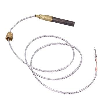 ForU-1 - Termopile36 de Dos Cables para Cecilware F178A Frymaster 8073565 Star MFG Y9270