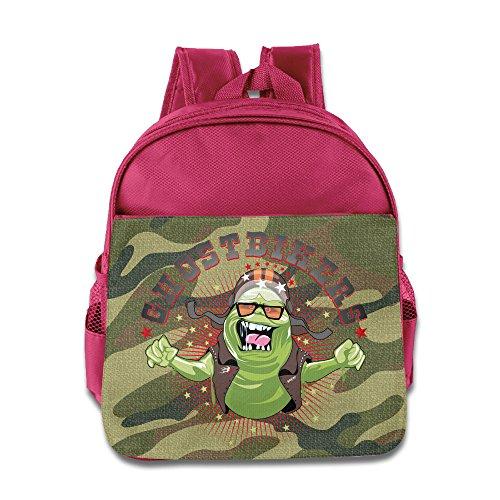 [Logon 8 Fashion Slimer Cute School Backpacks Pink For 3-6 Years Olds Kid] (Cute Slimer Costumes)