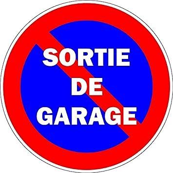 Panneau signal/étique stationnement interdit Sortie de voitures ne pas stationner