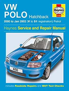 vw polo hatchback petrol service and repair manual 2000 2002 rh amazon co uk 2018 Volkswagen Polo GTI 2017 Volkswagen Polo