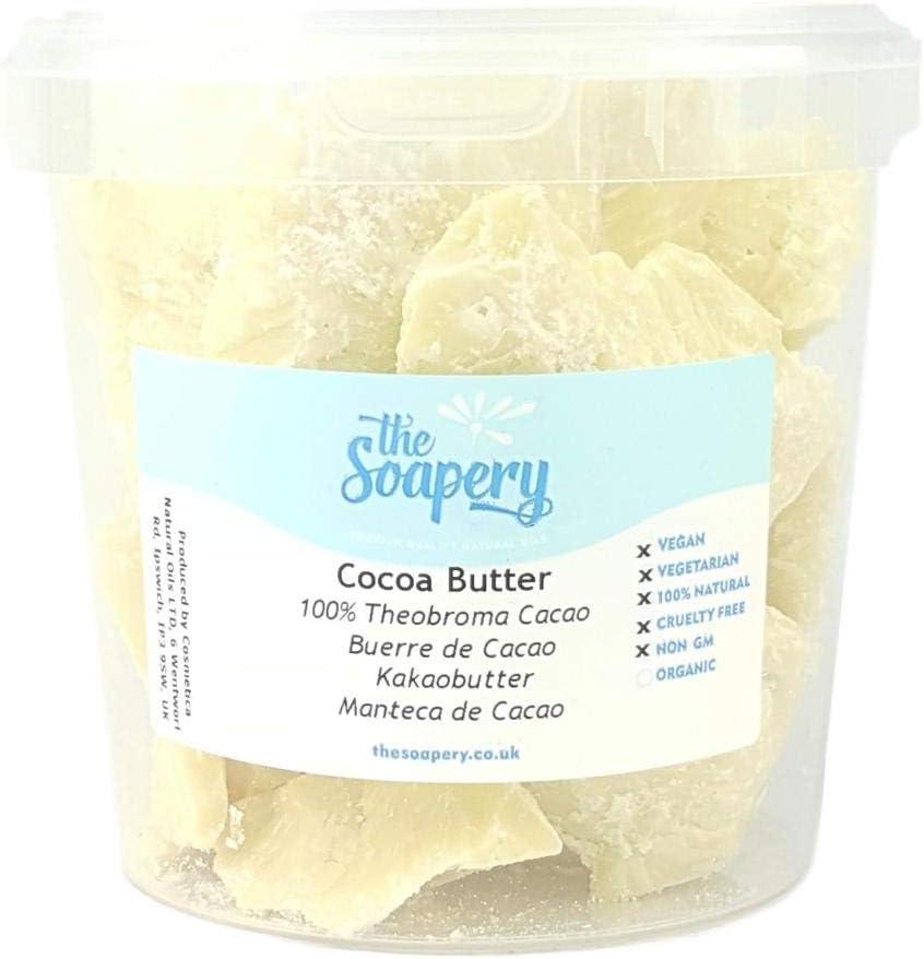 Manteca de Cacao 1kg - Sin Refinar - 100% Natural y Pura