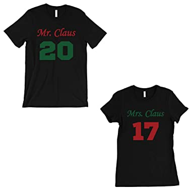 f815475b43 365 Printing Mr And Mrs Claus Couples Custom T-Shirts Christmas Gifts For  Wife