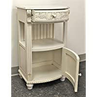 International Caravan 3973-AW-IC Furniture Piece One Drawer Telephone Table