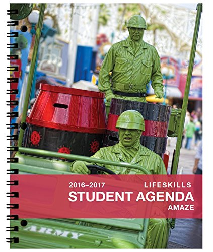 2016-2017 Amaze Student Day Planner (8.5 x 11 inches) August 2016 - July 2017 Academic Agenda Full Color Organizer -- Recommended [Grades 2nd - 6th]