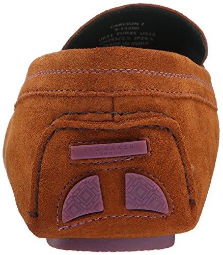 Ted Baker Mens Carlsun 2 Slip-on Loafer Tan