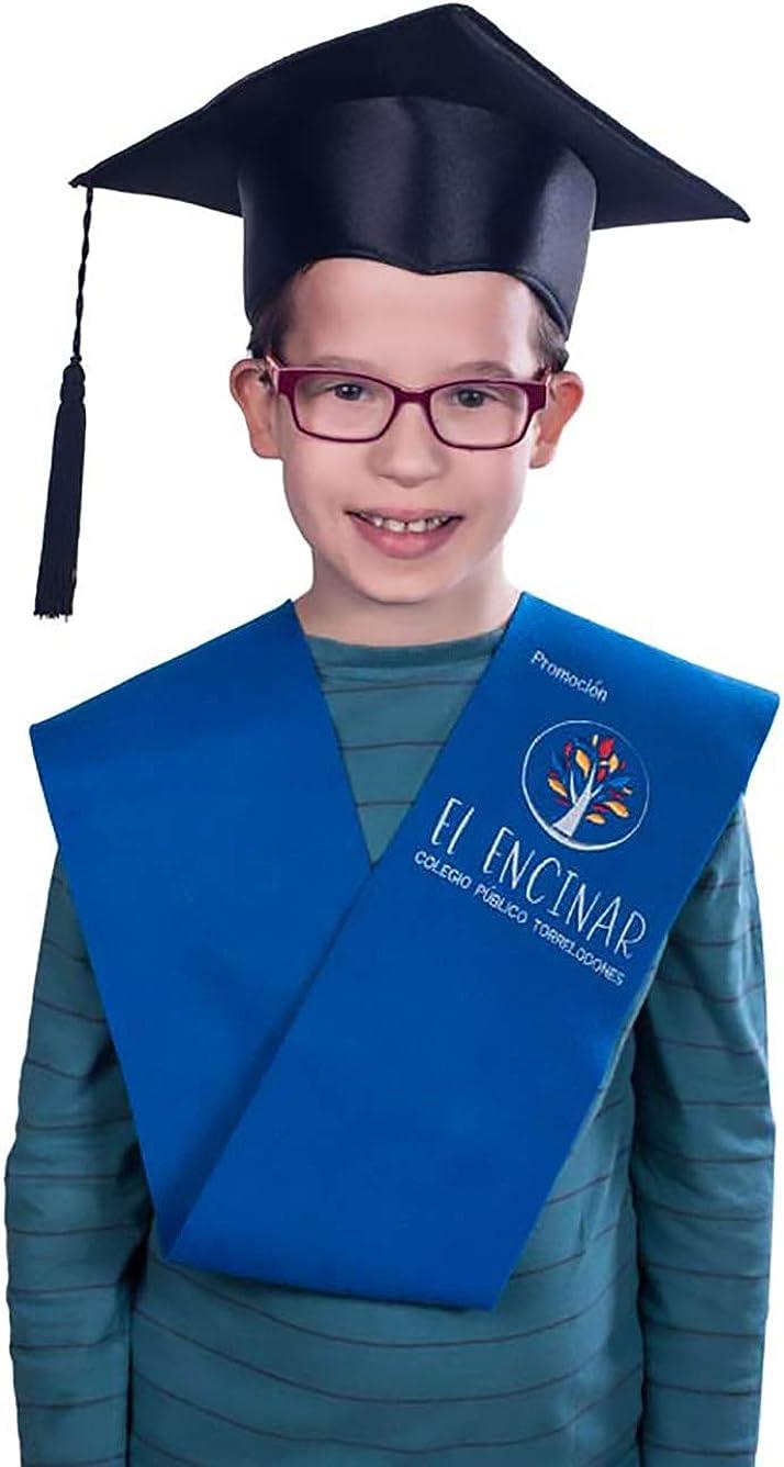 Tiltextil Birrete de graduación infantil y primaria