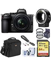 $1454 » Nikon Z5 Full Frame Mirrorless Digital Camera with 24-50mm Lens Bundle with FTZ Mount Adapter, 64GB SD Card, Wrist Strap, Filter Kit, Shoulder Bag, Cleaning Kit