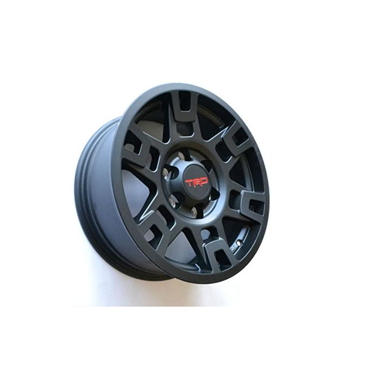 TOYOTA GENUINE PTR20-35110-BK Black Wheel 4RUNNER SE17 Flt 17″ TRD PRO RIMS